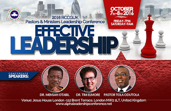 Effective Leadership Conference Banner